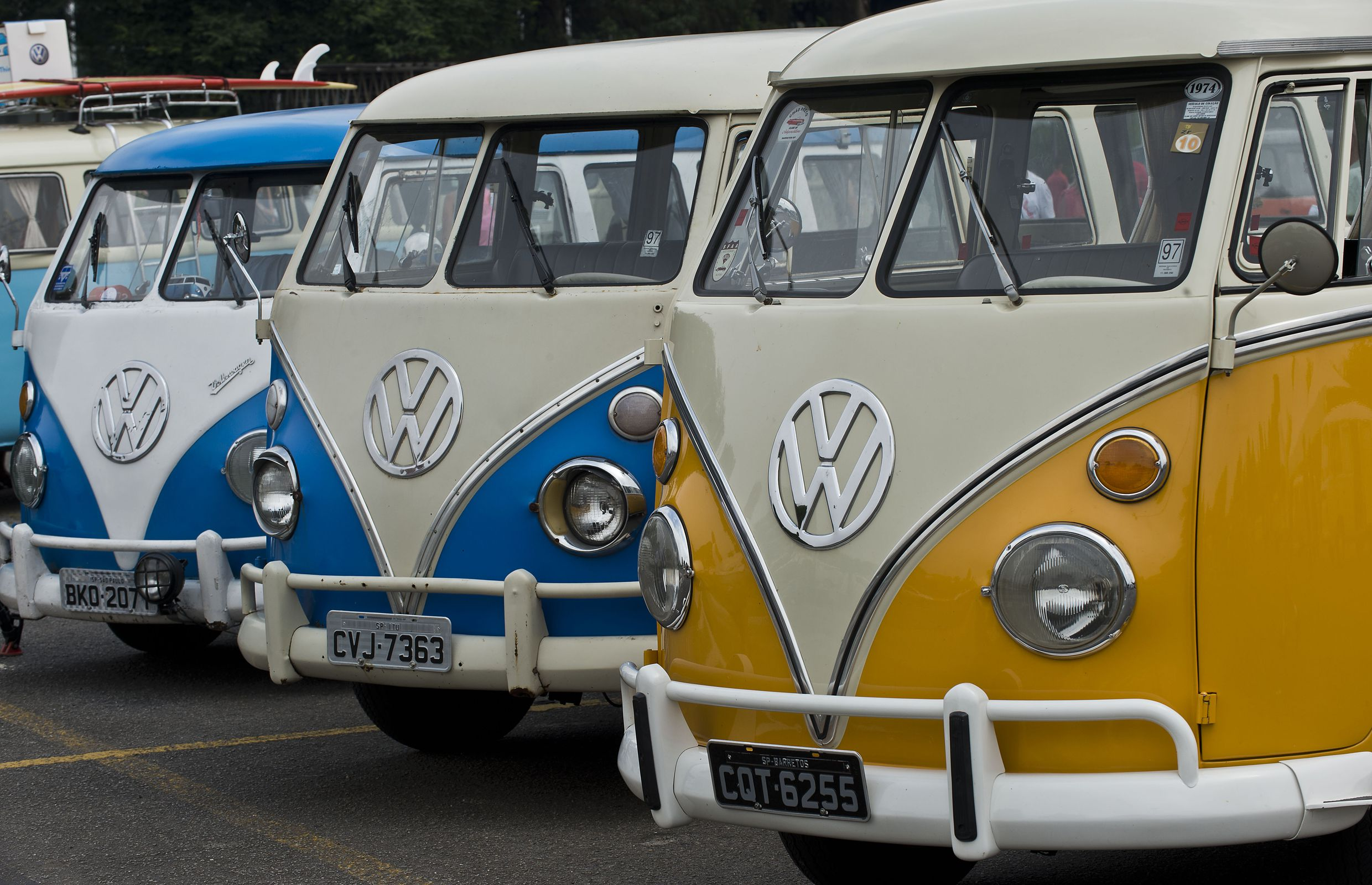 BRAZIL-GERMANY-AUTO-VW-KOMBI