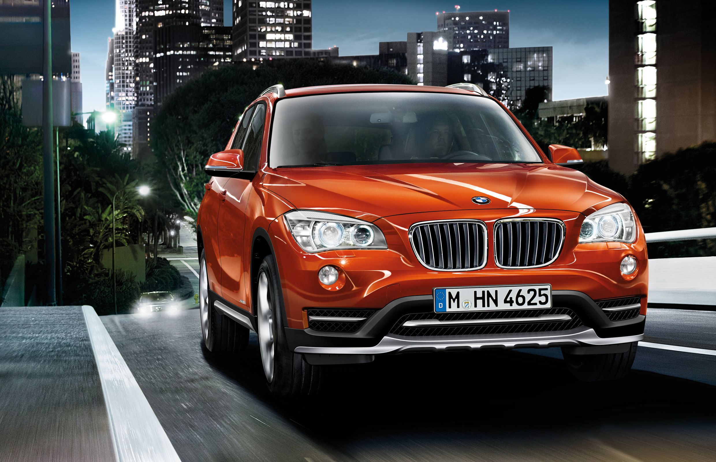 The 2014 BMW X1 will make its world premiere at the Detroit auto show in January.