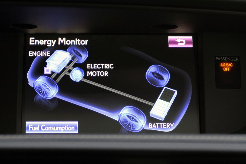 The instrument cluster includes a gauge which allows you to monitor the status of the electrical motor assist.