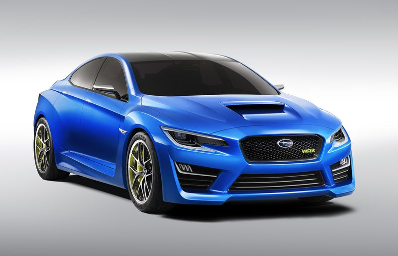 The Subaru WRX Concept was an absolute stunner. Too bad the production version is watered down from this thing.