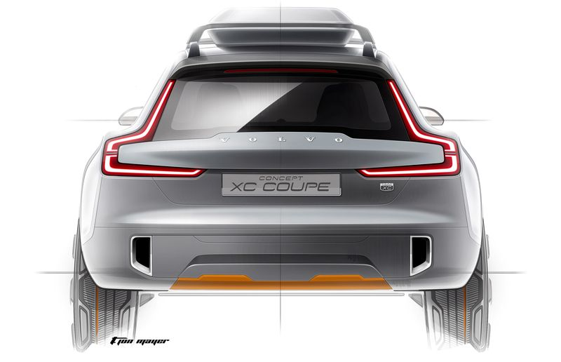 Volvo's Concept XC Coupe shows the goods of the company's new Scaleable Platform Architecture.