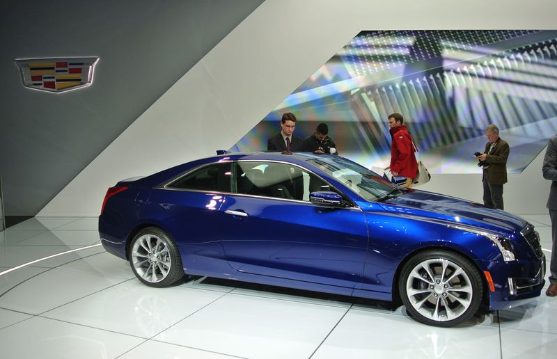 The 2015 Cadillac ATS Coupe.