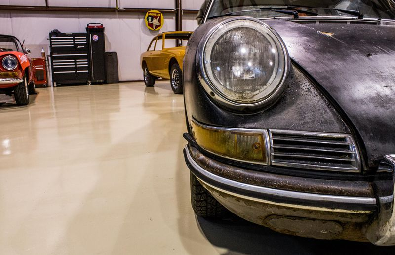 This Porsche 912 is in rough-but-decent shape, and used to belong to folk singer Valdy. It's about to undergo a two-year restoration.
