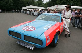 Richard Petty's 426 Hemi-powered 1973 Dodge Charger at the Goodwood Festival of Speed.