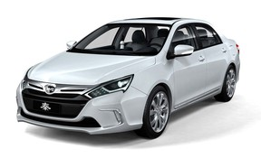 The Qin plug-in hybrid will be marketed as BYD's flagship vehicle when it hits the U.S. next year