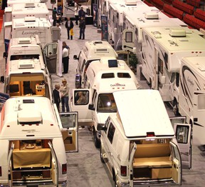 The 45th annual Calgary RV Expo & Sales runs Jan. 31 to Feb. 2 at the BMO Centre at the Calgary Stampede grounds.