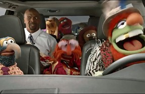The Muppets take over Terry Crews'  Highlander in Toyota's Super Bowl 2014 commercial.