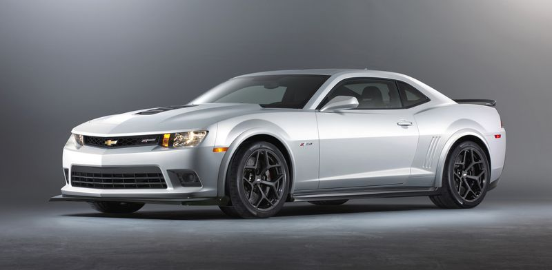 The Camaro Z/28 is powered by a 7.0-litre V8, rated at 505 horsepower.