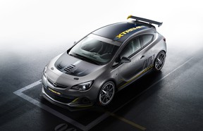 The Opel Astra OPC Extreme will debut at the 2014 Geneva Motor Show.