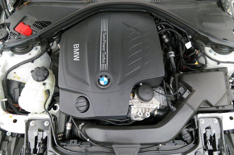 The 3.0-litre, 24-valve, turbocharged inline six-cylinder engine produces 300-hp and 300-lb.ft of torque.