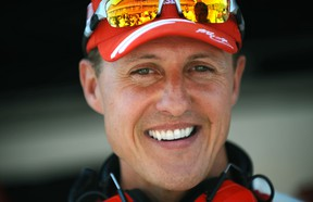 """Formula One World Champion Michael Schumacher is showing """"small, encouraging signs"""" that he might awake from his medically-induced coma, according to his agent. He has been hospitalized since a serious skiing accident on Dec. 29, 2013."""