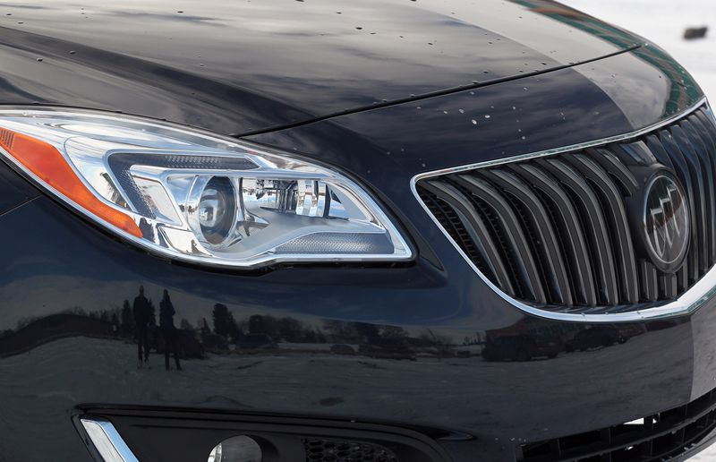 The 2014 Buick Regal gets new LED daytime running lights.