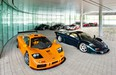 What makes the McLaren F1 a legend? Lots of things, like motorsports pedigree, earth-shattering performance and a world record. Must be the engine bay lined with gold.