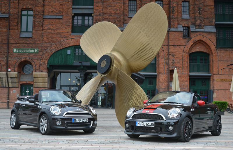 The 2014 Mini Cooper Convertible and Roadster