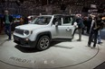 The new Jeep Renegade subcompact crossover SUV is shown at the 2014 Geneva Motor Show.