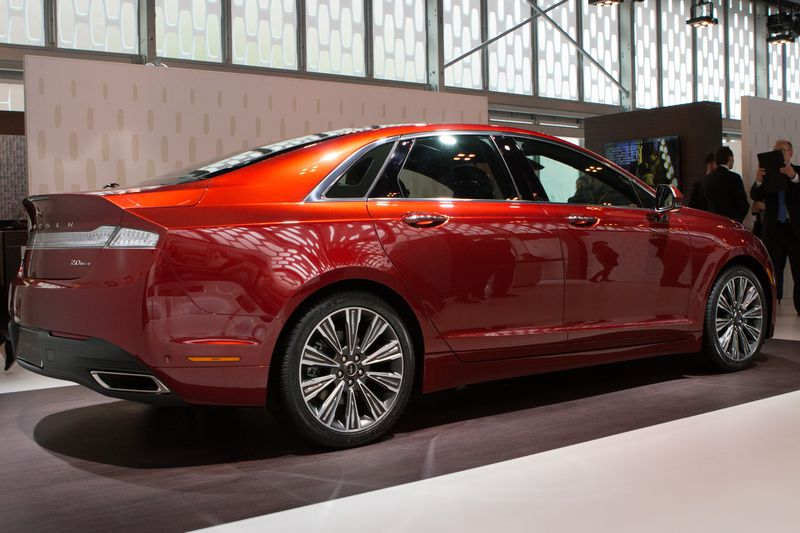 The MKZ (Pictured) will be joined by the MKC compact SUV for the initial launch in China