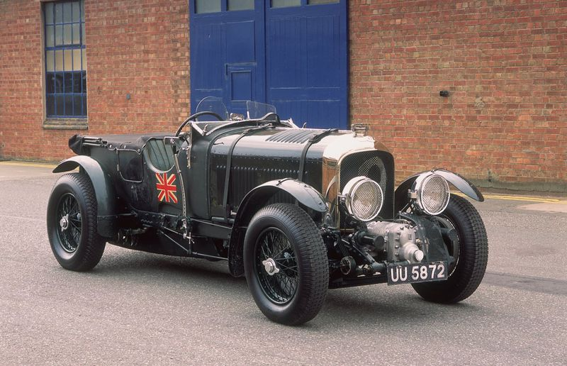 Not satisfied with merely beating up other cars on the racetrack, Bentley Boy Woolf Barnato took up racing trains. In 1930, he managed to pilot his Bentley Speed Six, top, from Cannes to London before the express train reached Calais.