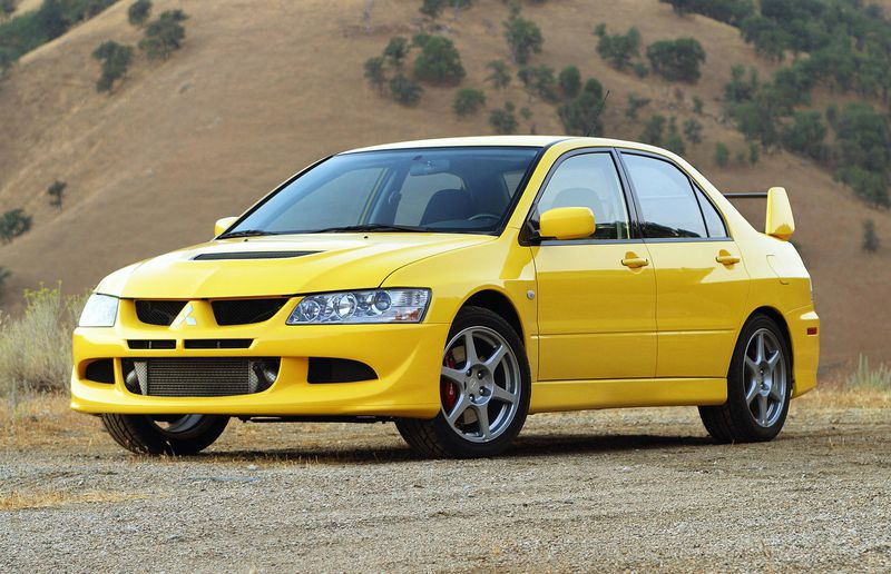 The first Lancer Evolution to show up in North America was the eight-generation model. Sadly, it was exclusive to the U.S., but they found their way to Canada eventually.
