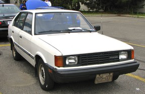 The Pony was the top selling car in Canada in 1984 but have virtually disappeared.