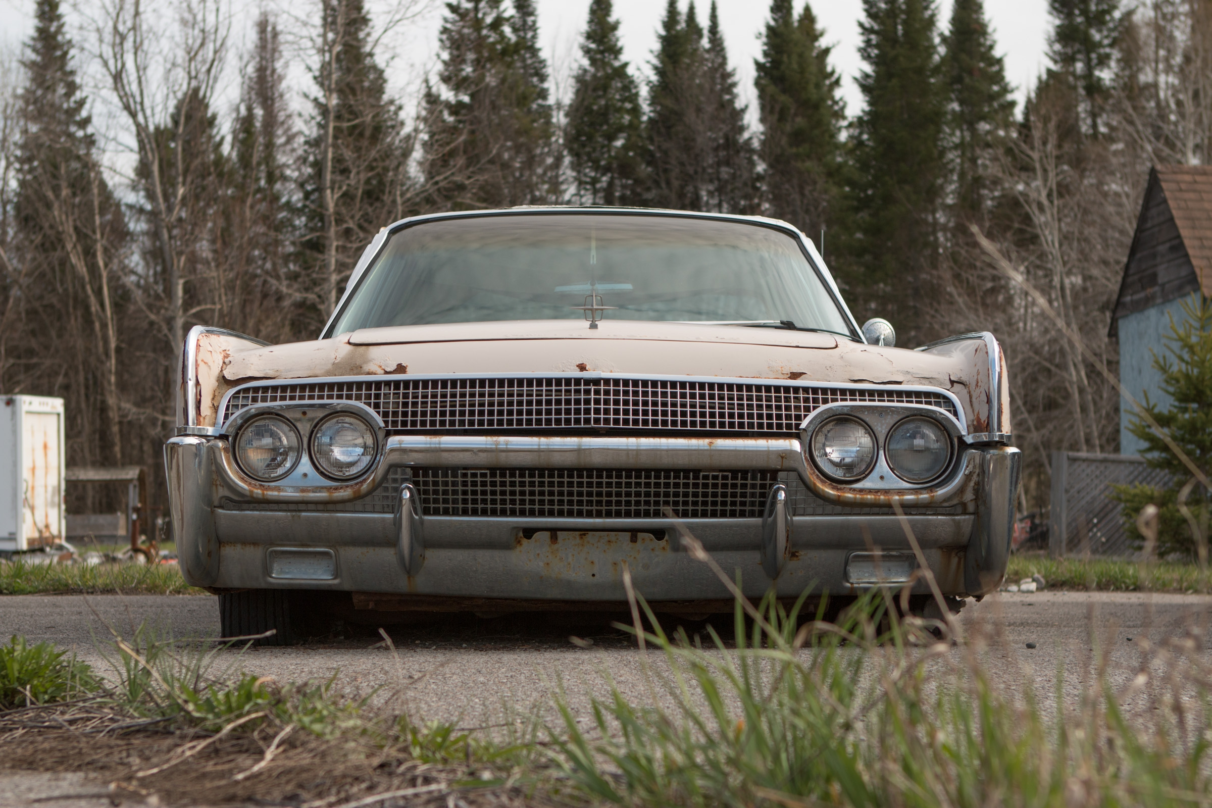 Rusting Lincoln Continentals