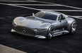 The Mercedes-Benz AMG Vision Gran Turismo could end up inspiring the design of Mercedes' upcoming hypercar.