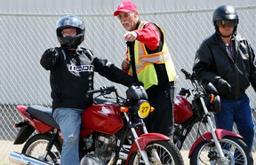 May is a great month to put your motorcycle back on the road. It's important to follow safety guidelines while enjoying your ride.