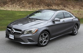 The Mercedes-Benz CLA sedan features sexy coupe styling which helps it stand out from the other cars in this class.