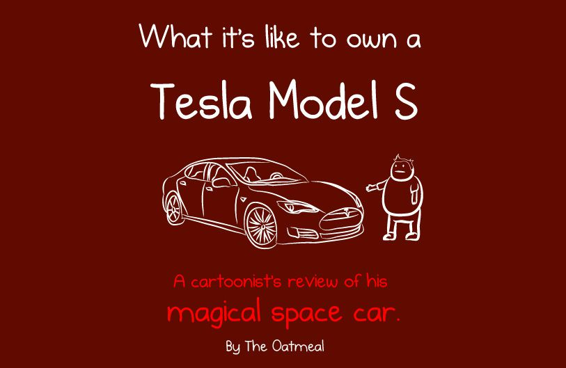 Tesla Model S Oatmeal review