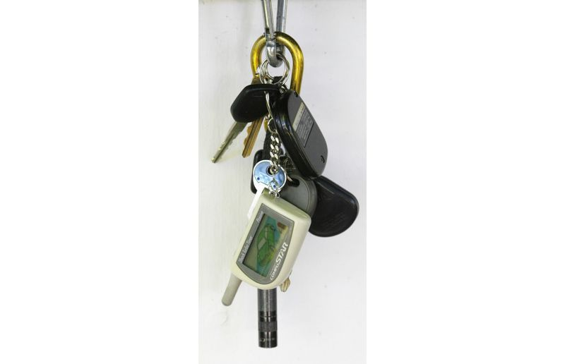 Heavy items on a driver's key chain can cause wear to the ignition lock cylinder and even turn the ignition to the off position.