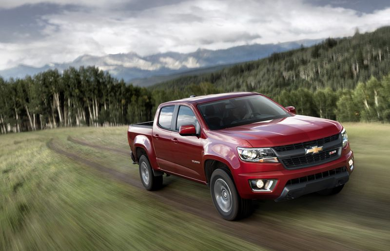 Two new kids on the hill, the Chevy Colorado (pictured) and GMC Canyon pair of medium-duty trucks might be poised to make inroads.