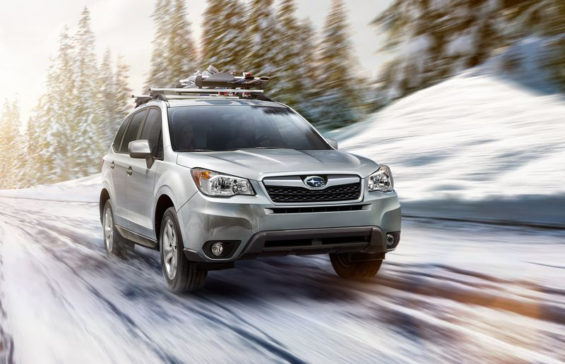 Subaru's Forester, with its good clearance and all-wheel drive is a good bet in both the city and the great outdoors.