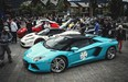More than 100 supercars on display at Whistlers Olympic Plaza The first stop for supercars on the Diamond Rally was Chances Casino in Whistler.