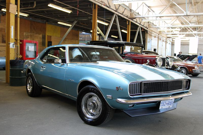 1969 Chevrolet Camaro Z/28 at the Vancouver Classic Car Show.