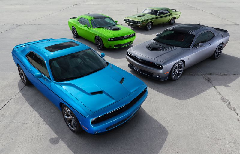 Can you spot the original Dodge Charger?