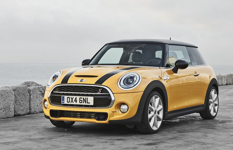 Even if it isn't as mini as the original, the Mini Cooper is a charmingly retro hatch.