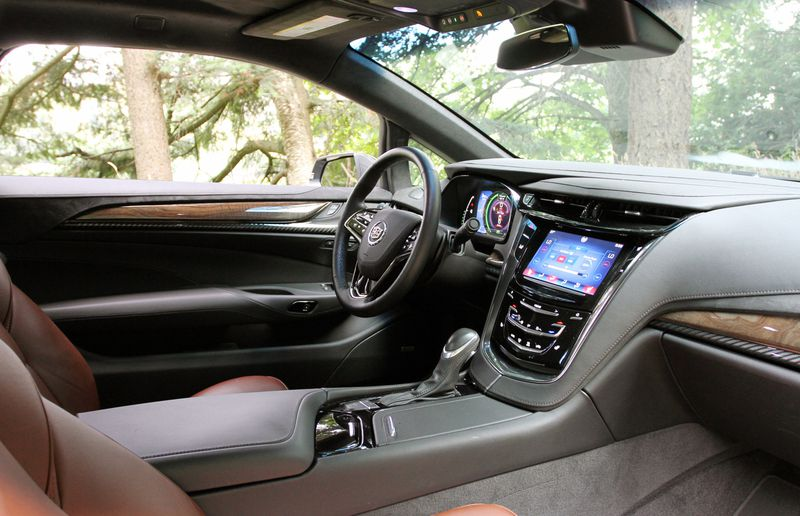 The driver's cockpit is spacious and airy, and all controls are oriented towards the driver.
