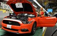 Ford has officially begun production of the 2015 Mustang.