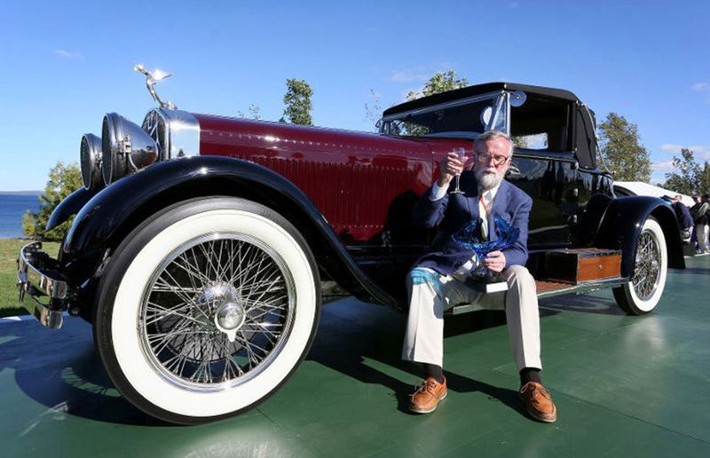 This 1928 Isotta Fraschini Tipo 8A SS with a custom-built American LeBaron body is one of three top flight classics being brought to the show by Peter Boyle from Covington, Ohio.
