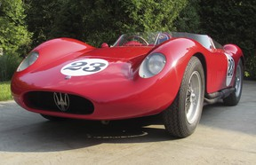 A rare 1957 Maserati 200Si to be displayed at the Luxury & Supercar Weekend event is one of only 28 built.