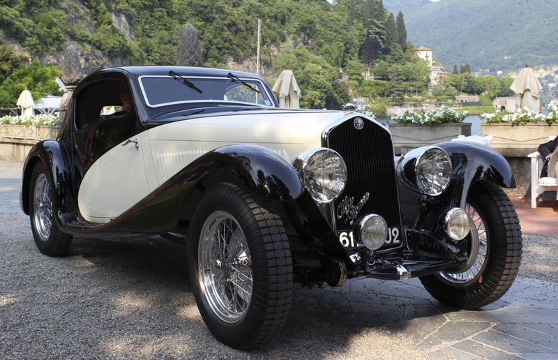 David Cohens triple crown winning 1933 Alfa Romeo Figoni-bodied 6C 1750 GS will be on display.