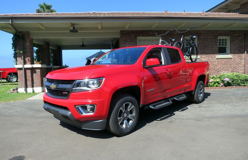 Much has been done to ensure the 2015 Chevrolet Colorado excels at towing.