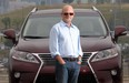 Brad Lindeburgh with the 2015 Lexus RX350.