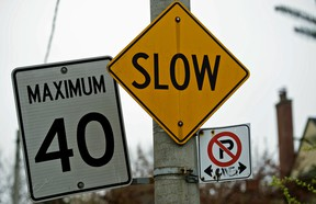B.C.'s capital city of Victoria has lowered its inner-city limit to 40 kilometres an hour from 50 km/h.