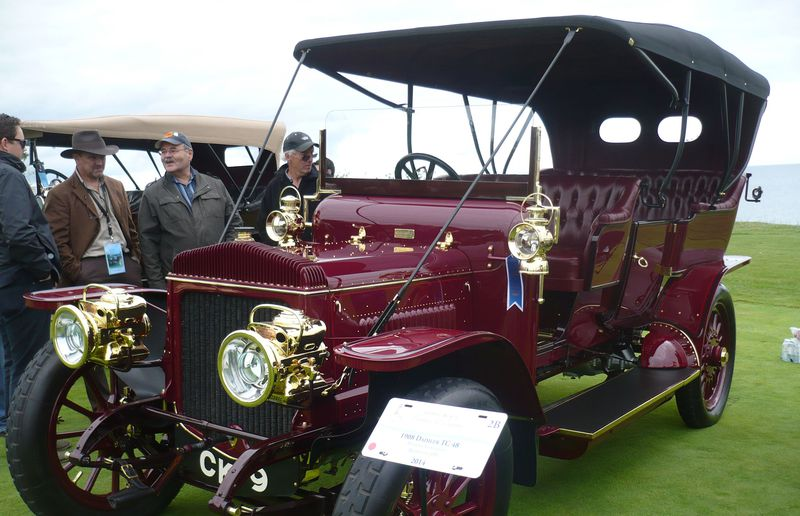 This 1908 Daimler TC48 displayed at the Cobble Beach concours belongs to Randall Longfield of Brampton, Ont.