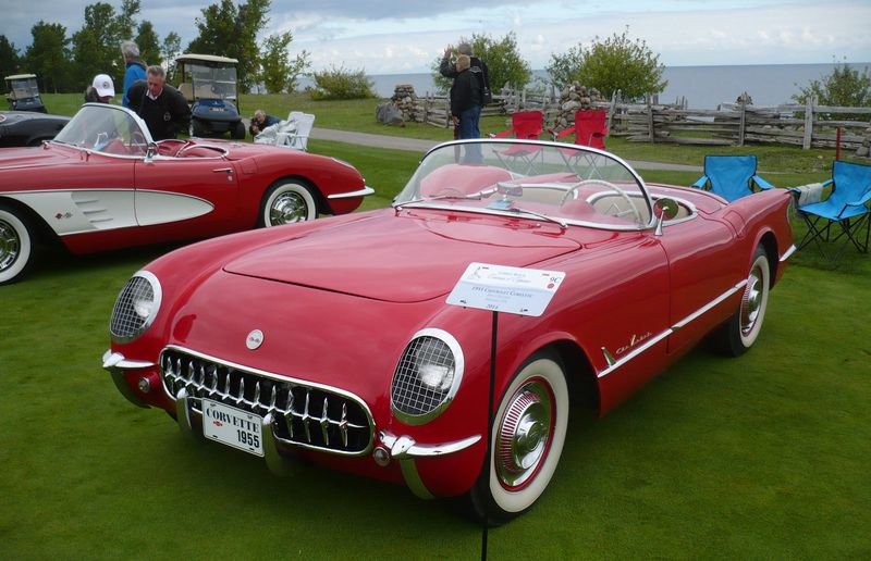 Doug Silliker of Brechin, Ontario paid $1,400 for this 1955 Corvette when he was 20 years old. It's one of only 700 built.