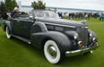 This rare 1938 Cadillac Fleetwood coupe convertible was displayed by Michel Ouellette of Ile-Bizard, Que.