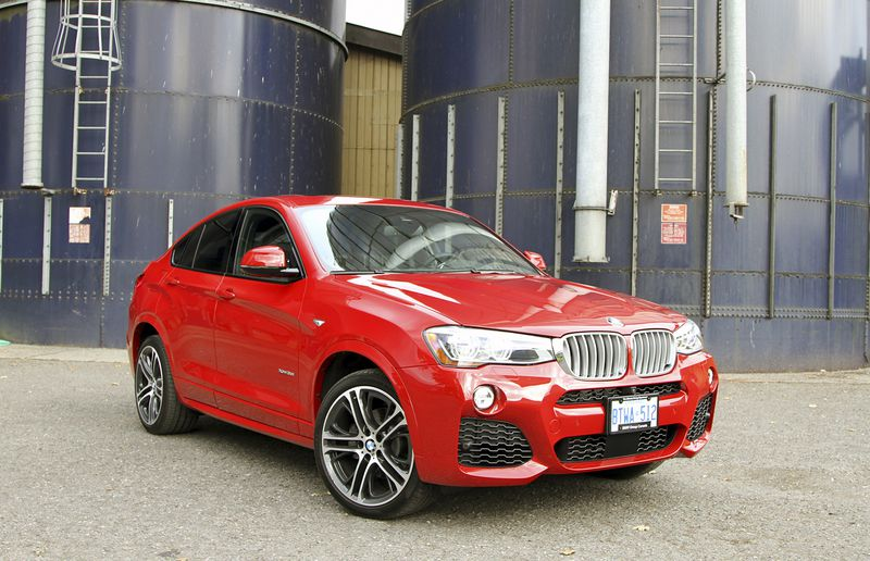 The BMW X4 offers unique styling which sets it apart from other vehicles in this category.