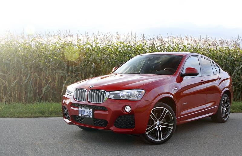 The BMW X4 offers unique styling that sets it apart from other vehicles in this category.