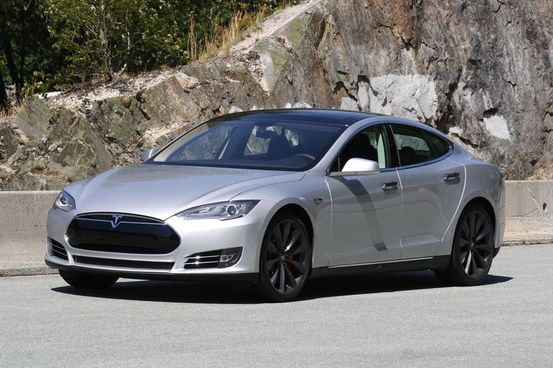 The Tesla Model S P85+ has all the elements of a high-performance luxury sport sedan — and then some.