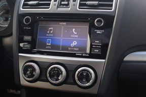 Simplicity in design provides the driver with a very user-friendly experience.